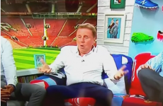 Harry Redknapp had a bit of an Eamon Dunphy moment on BT today