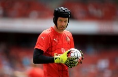 Petr Cech's Arsenal career has got off to a disastrous start