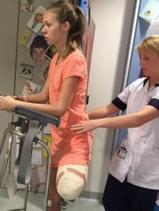 'I'll have a different life': Young woman who lost her leg on rollercoaster speaks out