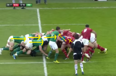 Analysis: Ireland perfect the 8-man shove in Welsh scrum demolition