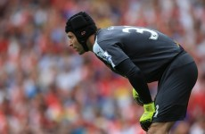 Cech admits his error-ridden Premier League Arsenal debut was 'not in the script'