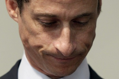 Anthony Weiner resigned in June