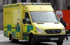Ambulance carrying a child involved in crash in Louth
