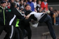 Hearts fan gets eight months inside after Lennon lunge incident