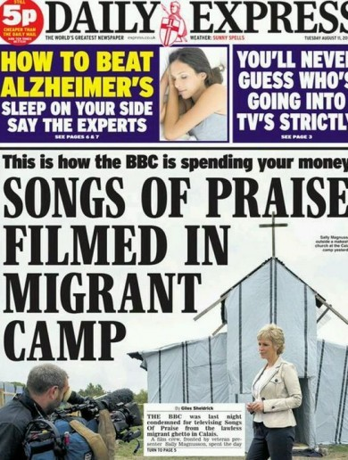 """Where is your compassion?"" The Daily Express is being slammed for this headline"