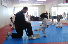 This little boy trying to break a board in Taekwondo is the internet's new hero