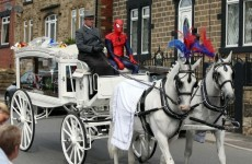 Superhero funeral held for seven-year-old boy who died on building site