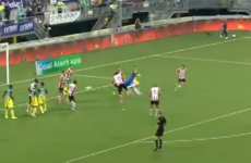 Eredivisie goalkeeper equalises with spectacular 95th-minute backheel volley