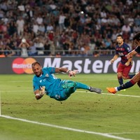 Man United-bound Pedro seals Super Cup win for Barcelona in 9-goal thriller