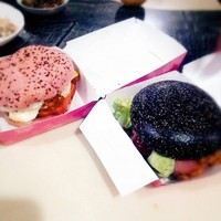 Pink burgers are the latest KFC creation to turn your stomach