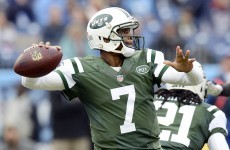 Team-mate broke Jets quarterback's jaw over an unpaid air fare