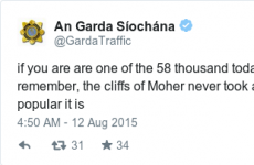 Garda Traffic just tweeted a rather inspiring message for Leaving Cert students