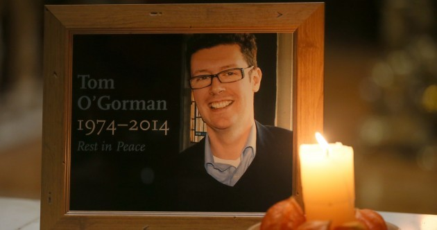 "Tom O'Gorman remembered as ""the least violent man one could imagine"""