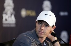 'I looked down and 30 seconds later it got the size of a tennis ball' - McIlroy on ligament injury