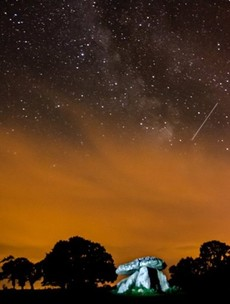 Pics: Did you see the perseids meteor shower last night?