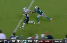 An NFL player got cut a day after he was torched on a 99-yard Patriots touchdown pass