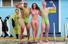 Get your bits out for the Pat's: Mankinis and bikinis go free at Richmond Park!