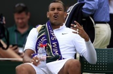 Nick Kyrgios apologises for comment to Stan Wawrinka after ATP fines him $10,000