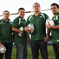 Four rugby legends walk into a bar...
