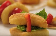 Birds Eye introduced chicken dipper canapes and everyone cried notions