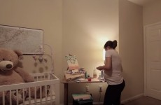 This video shows a couple's adorable pregnancy journey in three minutes