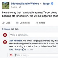 This guy excellently trolled people complaining about Target's new gender neutral policy