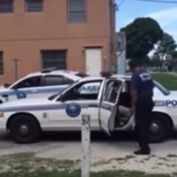Cop suspended after video shows him beating handcuffed man
