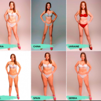 Here's what 18 different countries think the 'ideal woman's body' looks like