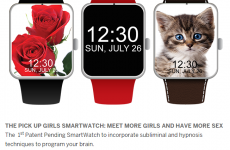 This creepy 'smartwatch' to help men get more sex has to be a joke