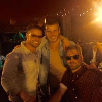 The world's most expensive footballer and Brian McFadden have struck up a bromance