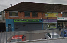 18-year-old woman pushed through glass window of kebab shop