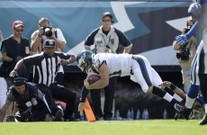 Tim Tebow is back scoring NFL touchdowns