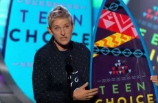 Here's why everyone is talking about Ellen DeGeneres' speech at the Teen Choice Awards