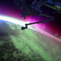 The best place to see the Northern Lights? From space...