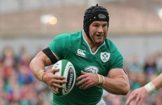 Sean O'Brien was an absolute beast at the breakdown against Scotland