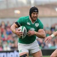 Sean O'Brien was an absolute beast at the breakdown against Scotland