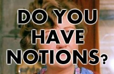 Do You Have Notions?