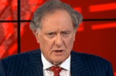 Vincent Browne wants you to know he's going absolutely nowhere
