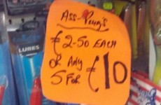 This Sligo shop is proudly selling some very kinky-sounding items