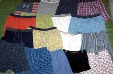 Boxers, briefs or trunks: What type of underwear do Irish men wear?