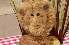 This lion made out of bread was the hero of the Great British Bake Off last night