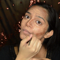 'Henna contouring' is the latest over-the-top makeup trend, and it's mesmerising