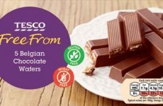 Did you buy Belgian chocolate wafers from Tesco recently? You better read this