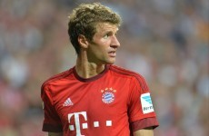 Müller laughs off Man United's 'crazy' reported €100million bid