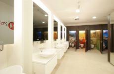 Company called 2theloo wants peeing in a public toilet to be an 'extraordinary experience'