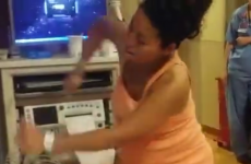 This woman's way of alleviating labour pains has gone viral