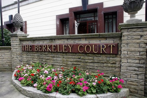 The Berkeley Court Hotel on the day it closed
