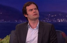 Bill Hader's attempt at an Irish accent is the cringiest thing you'll see today