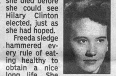 This lady has the cutest obituary you'll read today