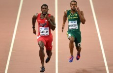 Gatlin greeted by boos as he cruises into world 100m semi-finals with Bolt